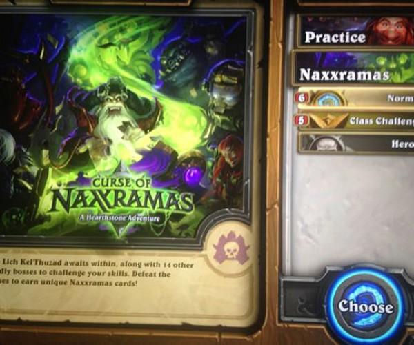 Hearthstone Expansion Curse of Naxxramas Images Leaked: That Belongs in an Embargo!