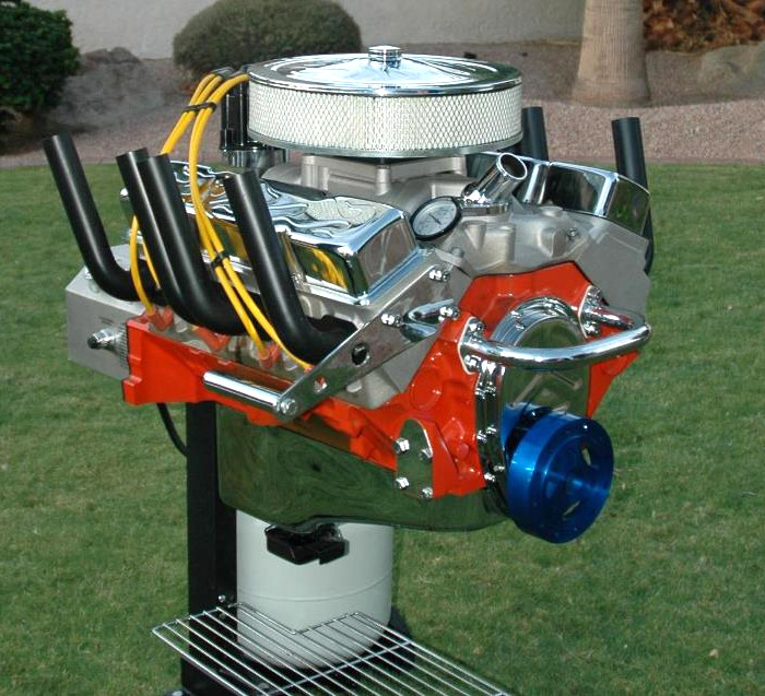 V-8 Engine BBQ Grill: Now We're Cooking with Gas! - Technabob