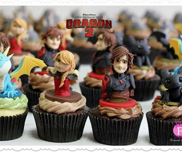 How to Train Your Dragon Cupcakes: Eat Them Even if You're Toothless