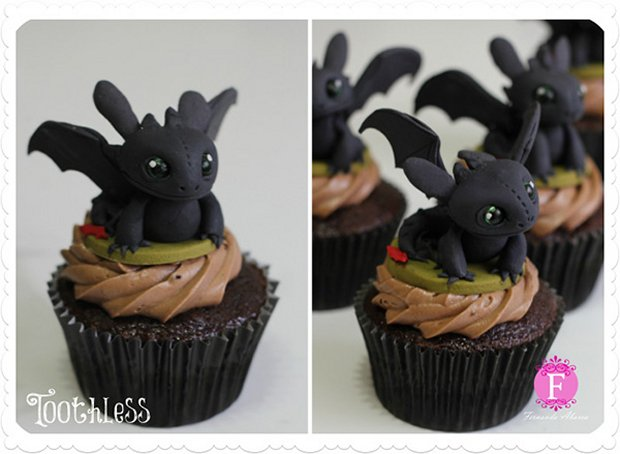 How to Train Your Dragon Cupcakes: Eat Them Even if You're Toothless - Technabob