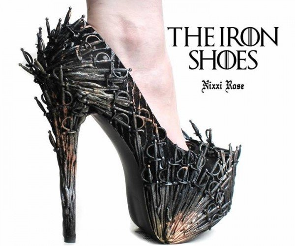 Iron Throne Shoes, Don't Mind the Hodor