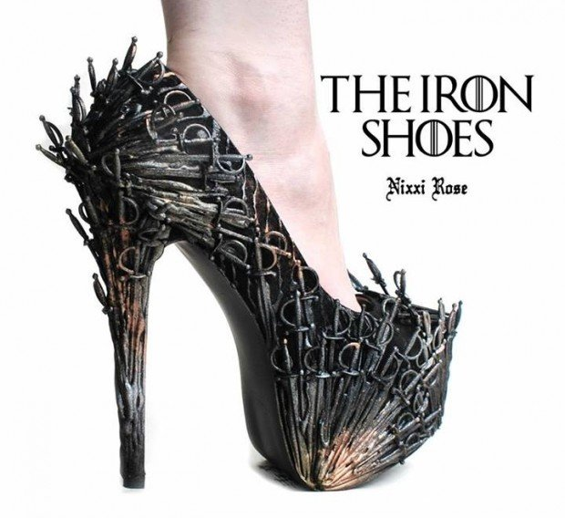 iron throne shoes 620x568