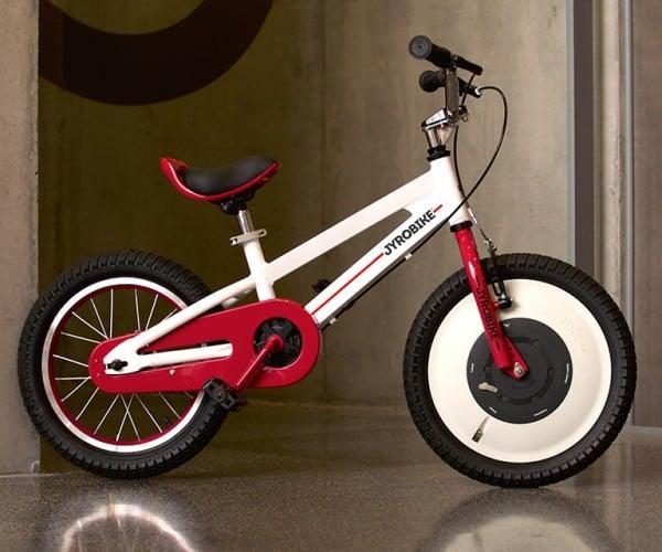 Jyrobike Kid's Bicycle Can Balance on Its Own: Look Ma, No Man!