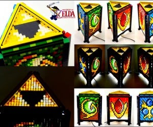 LEGO Legend of Zelda Lamp Lights Link's Life