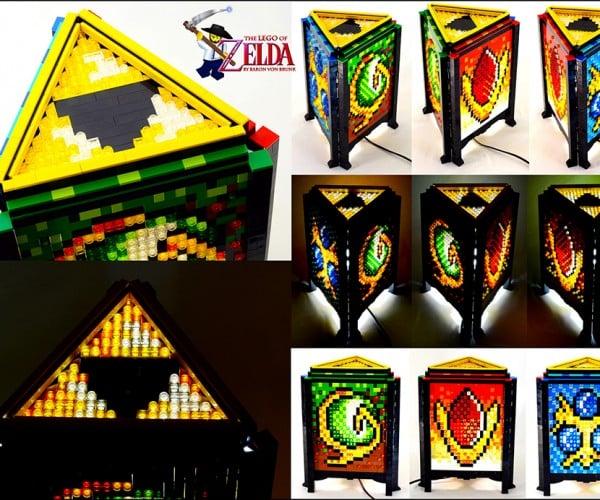 LEGO Legend of Zelda Lamp Lights Link's Life