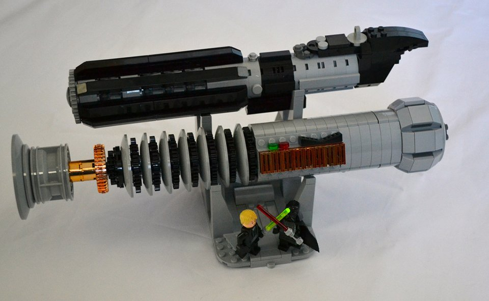 Lego star wars lightsabers concept every hilt is awesome technabob