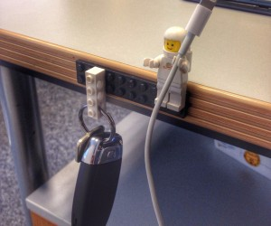 LEGO Minifig as Cable Holder: Every Cord is Awesome