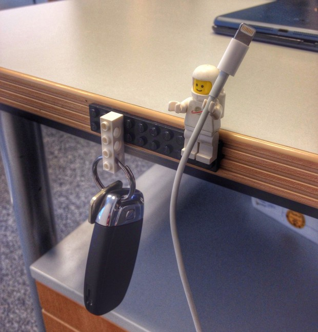 lego sugru minifig cable holder by 2spinout 620x647