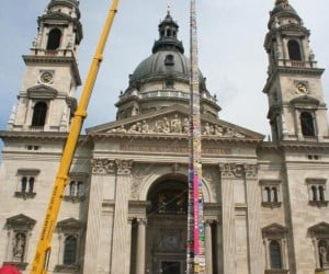 Budapest Builds World's Tallest LEGO Tower