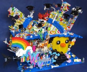 Cloud Cuckoo Land from The LEGO Movie Recreated in… LEGO