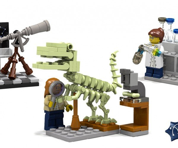 Finally: LEGO to Offer Female Scientist Playsets