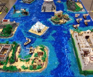 "Homer's ""The Odyssey"" is Epic in LEGO Form"