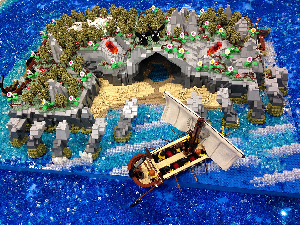 """Build A Silverado >> Homer's """"The Odyssey"""" is Epic in LEGO Form"""