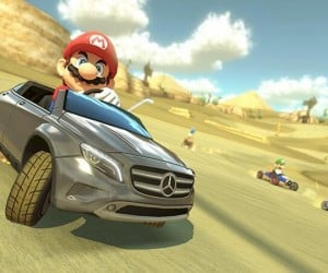 Japan Mario Kart 8 Players Get a Mercedes Benz GLA