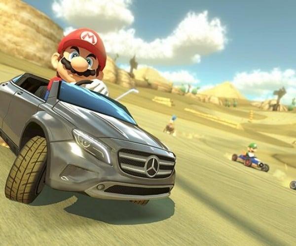 Japan Mario Kart 8 Players Get a Mercedes Benz GLA