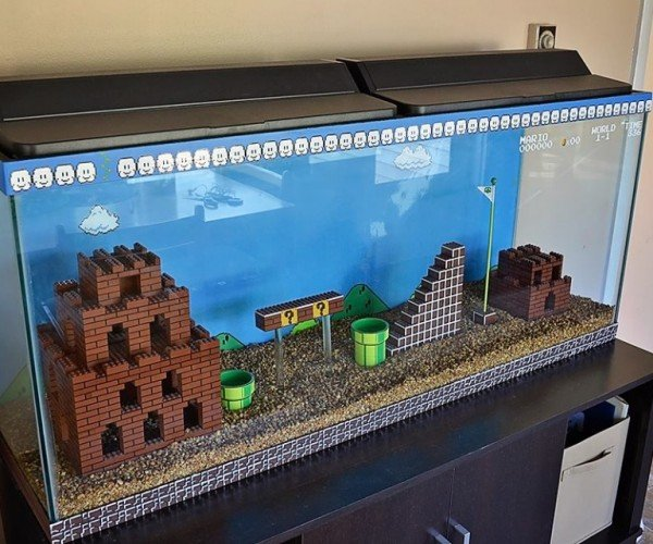LEGO Super Mario Bros. Aquarium: Your Princess Is in Another Tank
