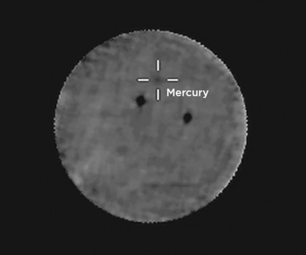 NASA Curiosity Rover Watches Mercury for the First Time