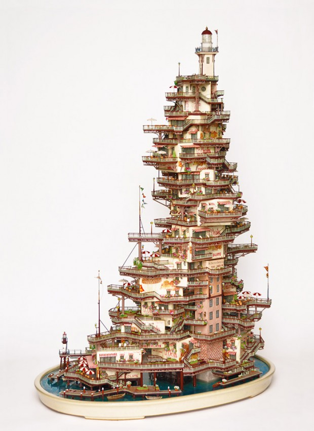 miniature structures Taknori Aiba 8 620x851