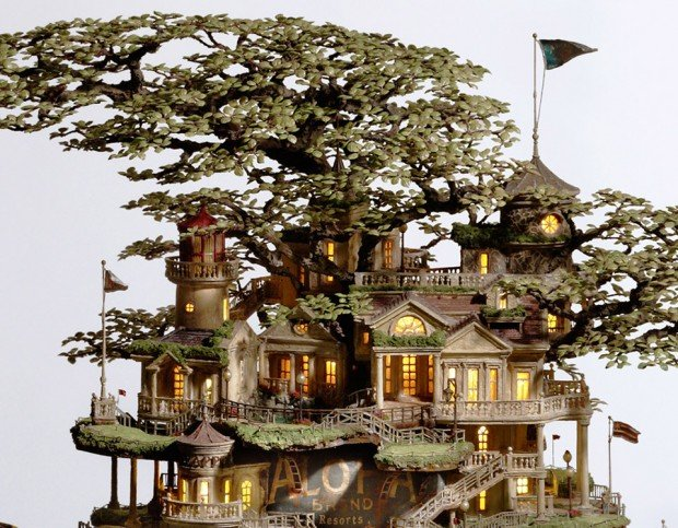 miniature structures Taknori Aiba 9 620x483