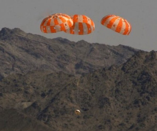 NASA Orion Crew Capsule Completes Parachute Test Flawlessly