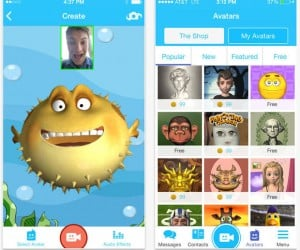 Pocket Avatars App Maps Your Expressions onto Silly Characters