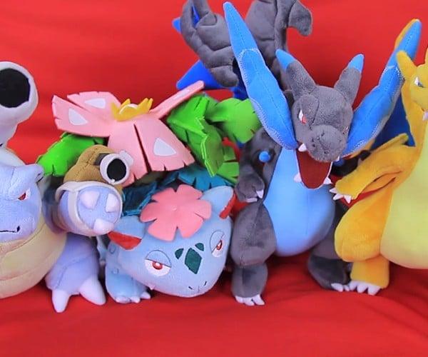 Pokémon Center Mega Evolution Plush Toys Don't Need Mega Plush Stones