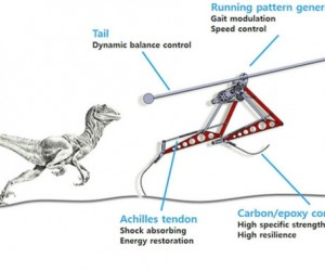 Raptor Robot Can Run 28 MPH and Avoid Obstacles