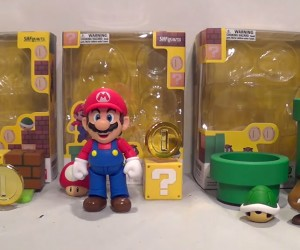 Super Mario Diorama Playsets: Real Life Mario Maker
