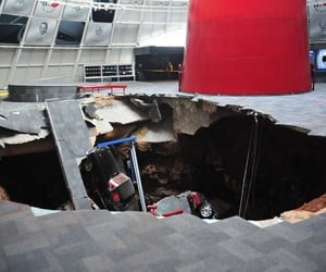 National Corvette Museum May Turn Sinkhole into Permanent Attraction