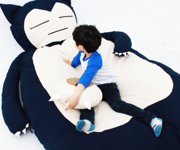 Snorlax Bed: Zzzzzzs… Gotta Catch 'em All