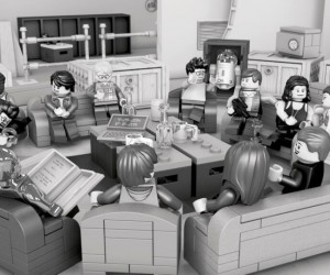 Star Wars: Episode VII Cast Photo Recreated in LEGO