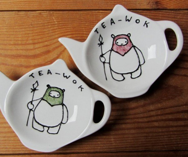 Ewok Tea Bag Tidy: It's Tea-wok Time!