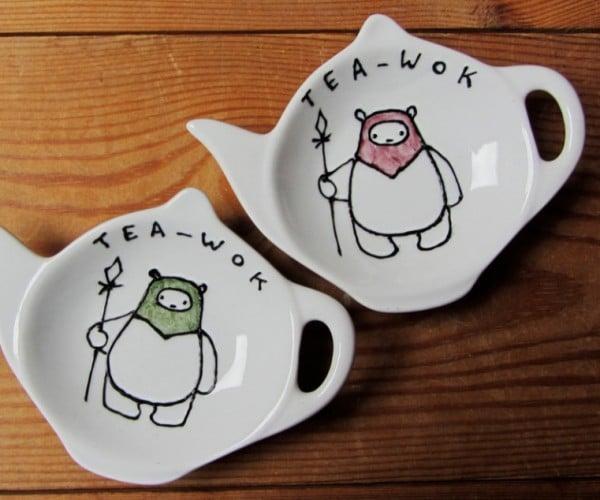 Ewok Tea Bag Tidy: It's Tea-wok Time!