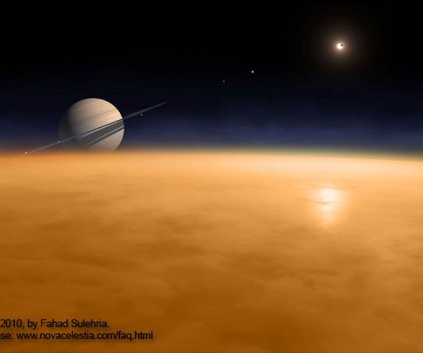 Scientists Say Titan Smells Like Farts and Gasoline
