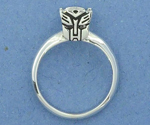 Transformers Engagement Rings: AllSparkles