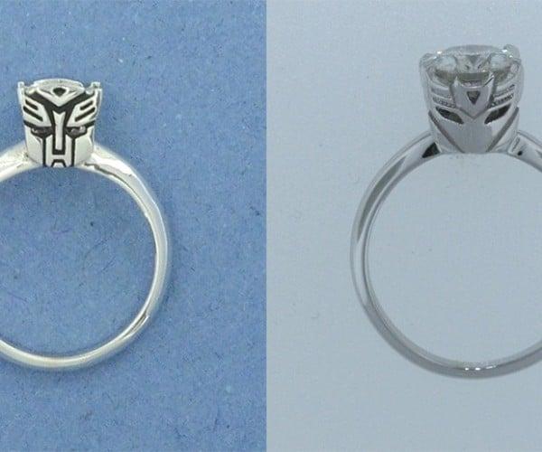 Transformers Engagement Rings: AllSparkles