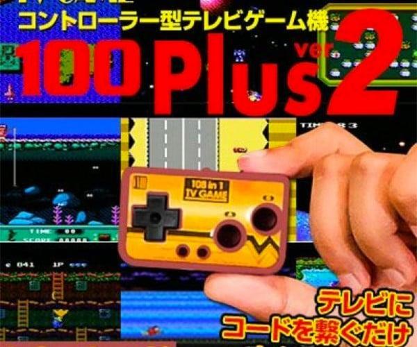 TV Game 100 Plus Crams 100 Games into a Tiny Controller