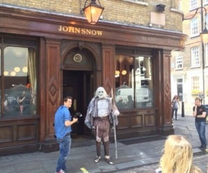 So a White Walker Walks into the John Snow Pub…