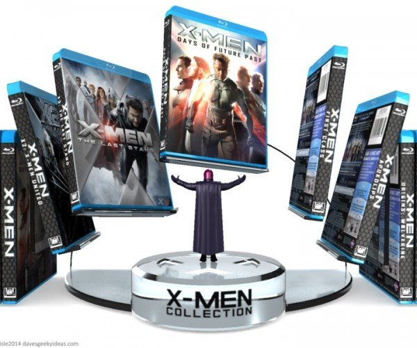 X-Men Blu-Ray Collection Display: The Last Stand You'll Ever Need