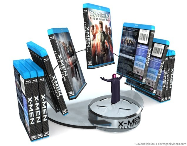 X Men Blu Ray Collection Display The Last Stand You Ll
