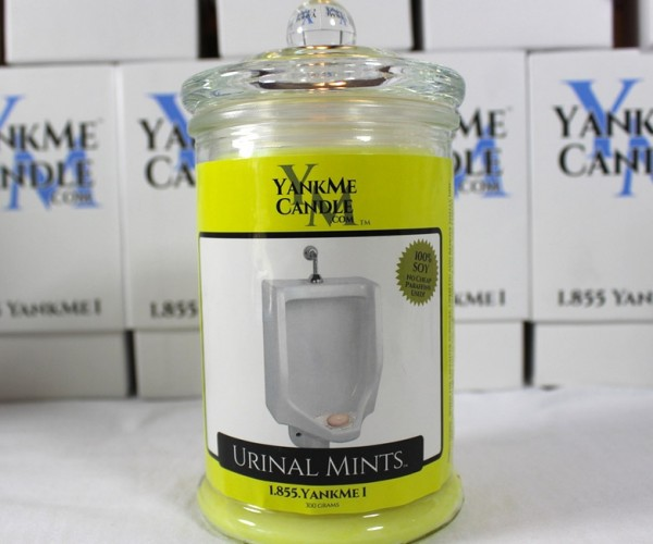 YankMe Candles Yank Your Chain with Disgusting Candle Scents