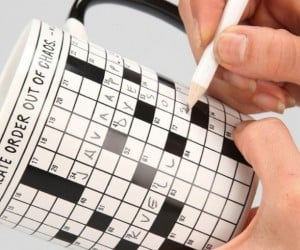 Crossword Puzzle Mug: Coffee For You, Puzzle for Everyone Else