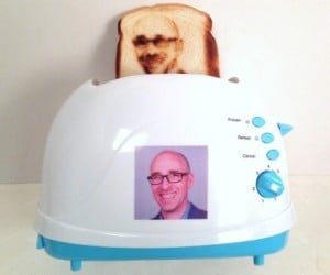 Selfie Toaster: Spread Some Jam on Your Face