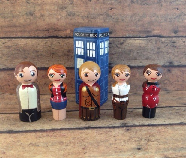 Deluxe 20 Piece Doctor Who Peg People Playset3