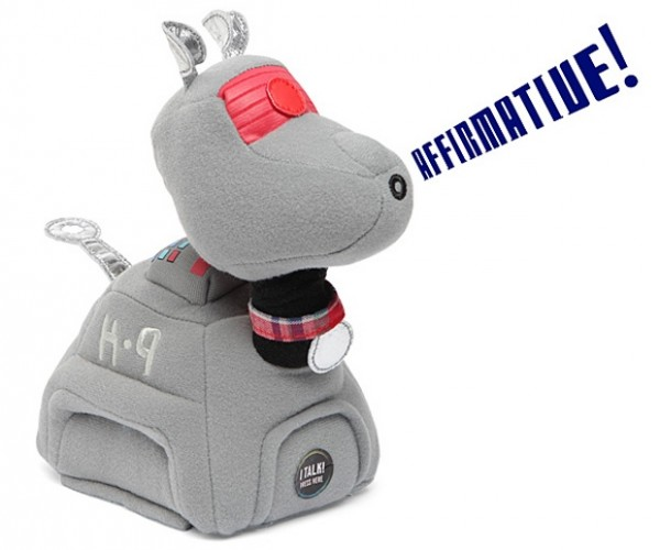 Doctor Who K-9 Talking Plush is Not Programmed to Bark