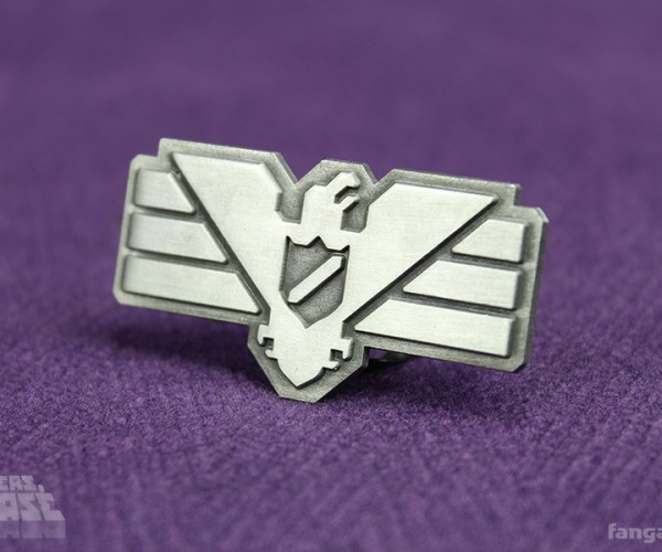 Papers, Please Arstotzka Inspector Pin: Glory to Arstotzka!