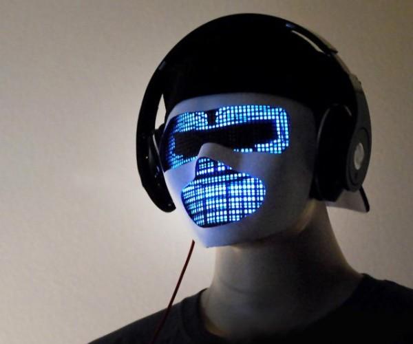 If Jason Were a DJ: Sound Reactive LED Mask