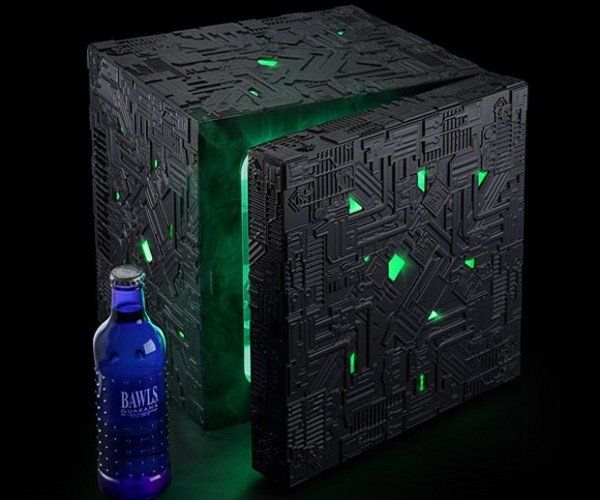 Star Trek Borg Cube Fridge: All Your Beverage Are Belong to Us