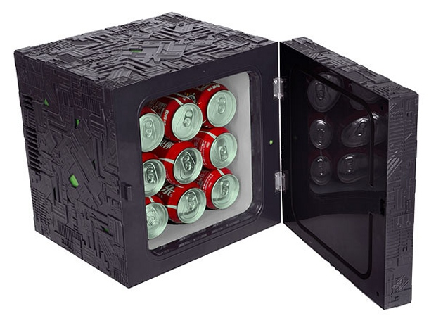 Star Trek Borg Cube Fridge1