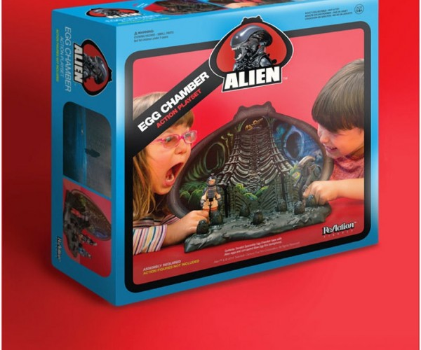 With the Retro Alien Playset, the Game is Never Over